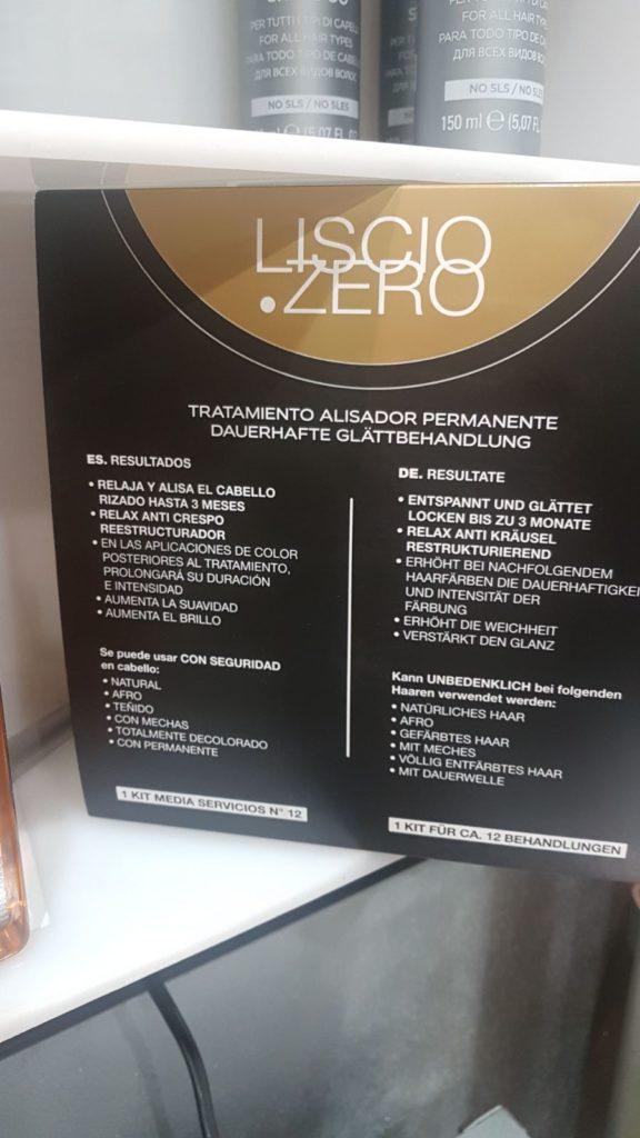 liscio zero