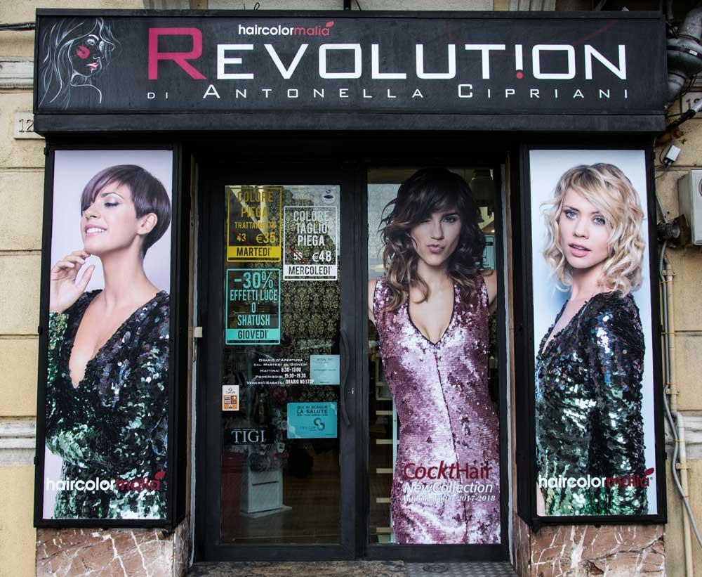 revolution parrucchieri
