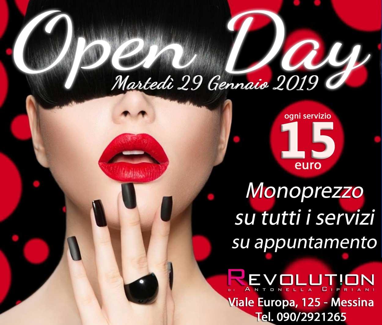 Open Day parrucchieri
