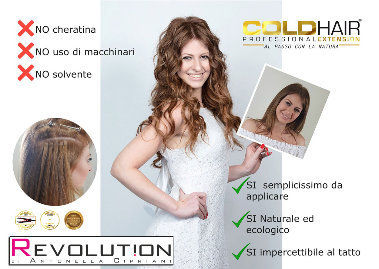 cold-hair extension