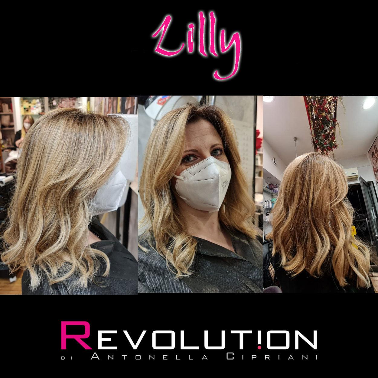 Lilly per Revolution Parrucchieri