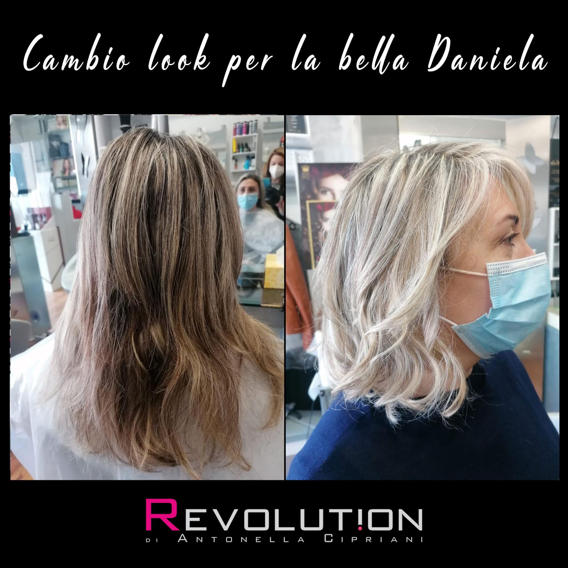 Cambio look per la bella Daniela