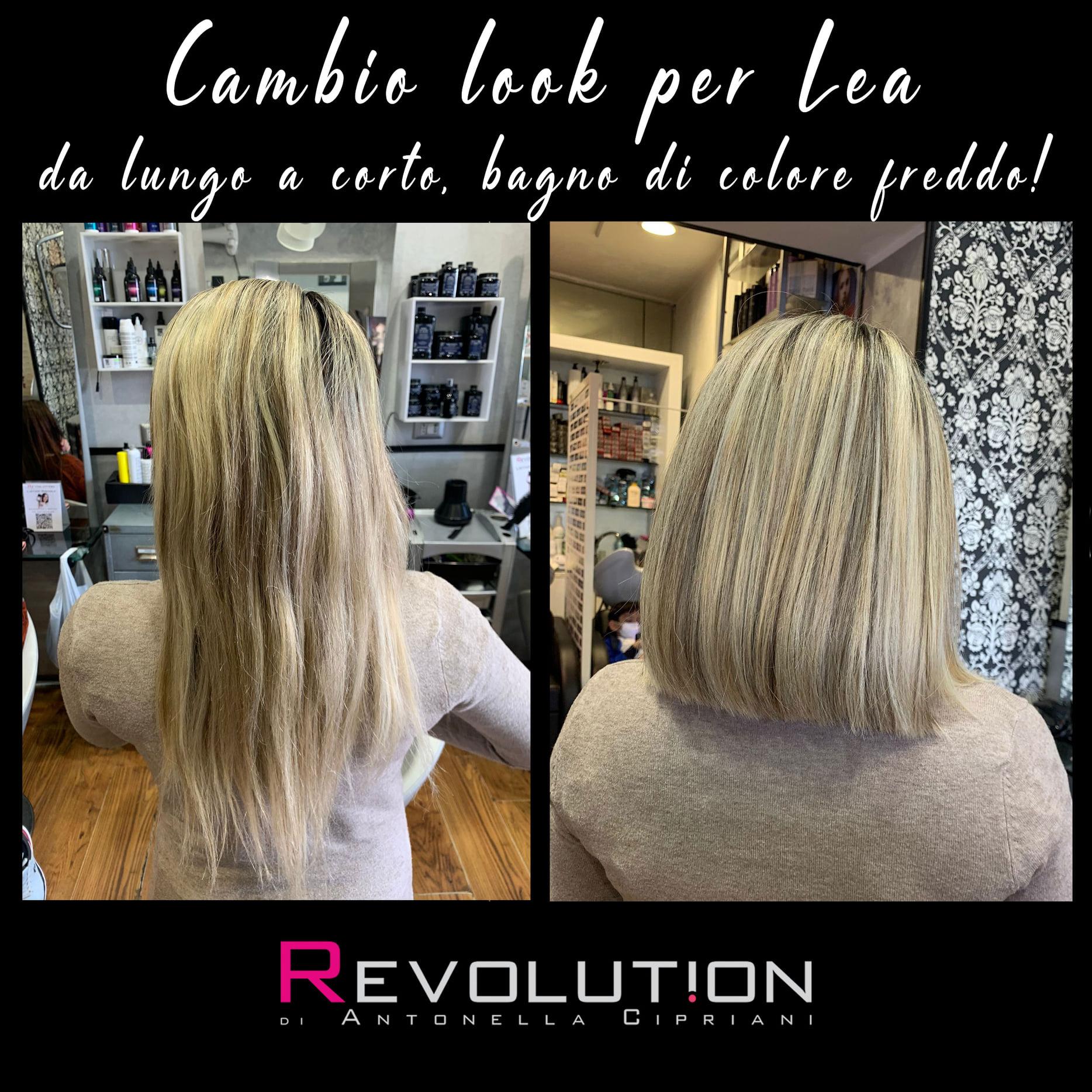 Cambio look per Lea
